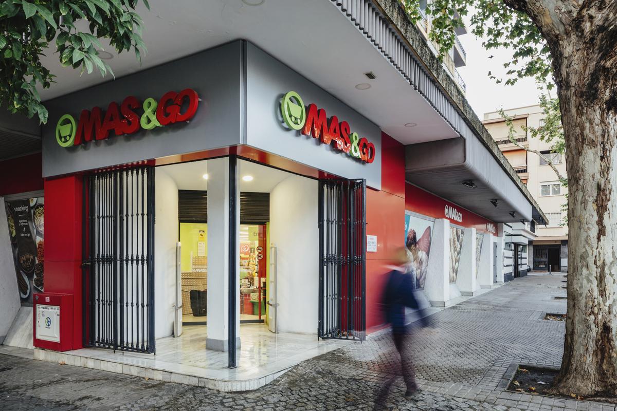 Fachada exterior MAS&Go Plaza Gavidia, Sevilla